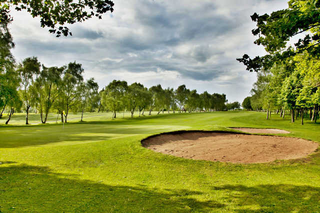 A view of the 5th hole at Bulwell Forest Golf Club.