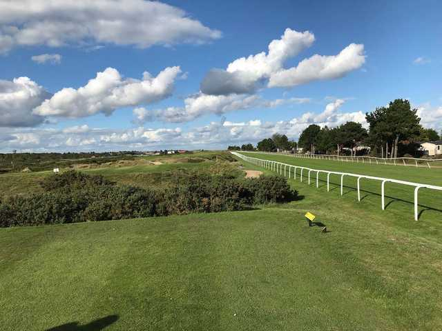 A view from a tee at Great Yarmouth & Caister Golf Club.