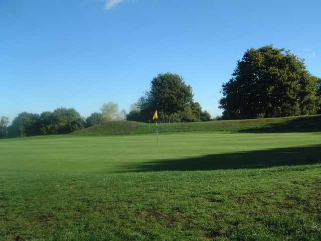 A view of a hole at Stanmore Golf Club.