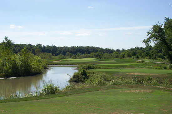 A view from the 6th tee at Cooks Creek Golf Club