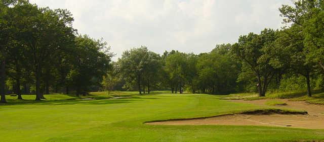 A view of fairway Port Huron Golf Club.