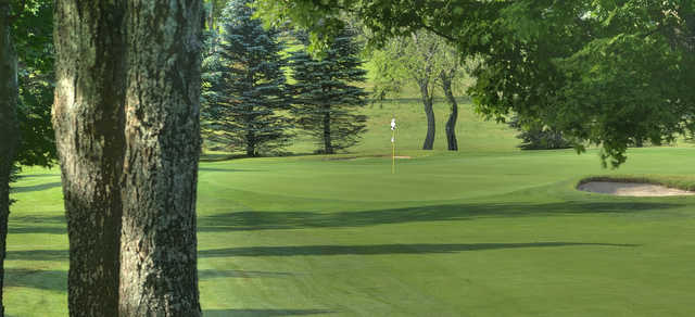 A view of the 7th hole at Gaylord Golf Club.
