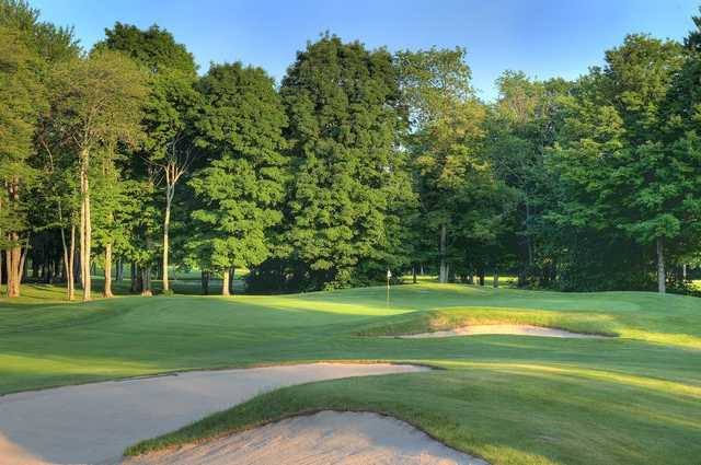 A view of hole #5 at Gaylord Golf Club.