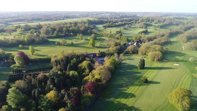 A view from High Elms Golf Club