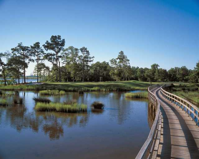 A view of the 6th hole at Gray Plantation.