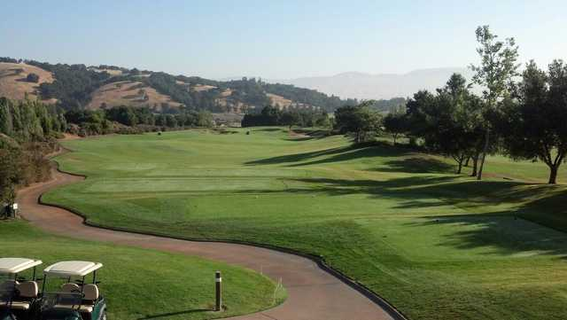 A view of tee #1 at Eagle Ridge Golf Club.
