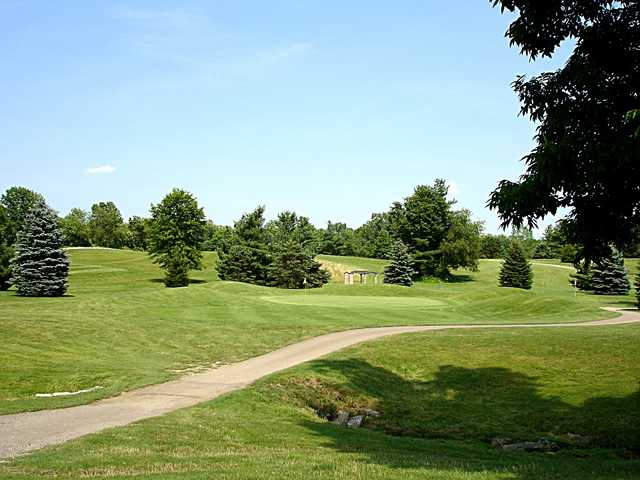 A view of the 14th hole at Saint Albans Golf Club