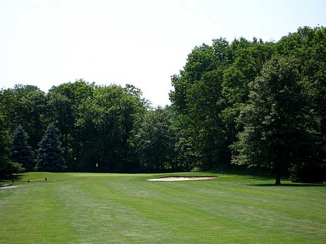 A view of the 13th hole at Saint Albans Golf Club