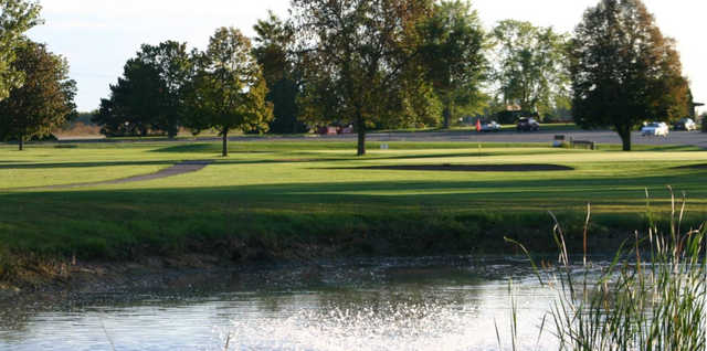 A view over the water from Coachman's Golf Resort.