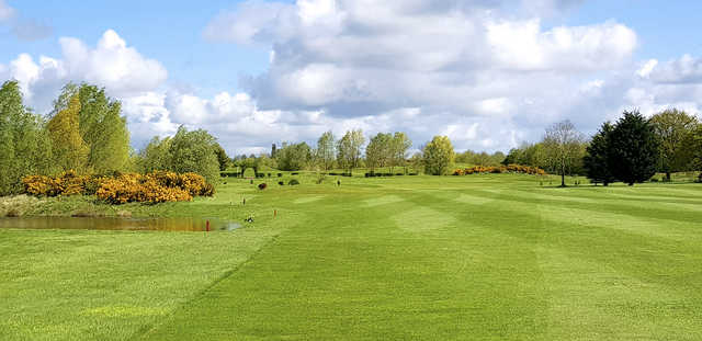 A view from Cambridge Meridian Golf Club