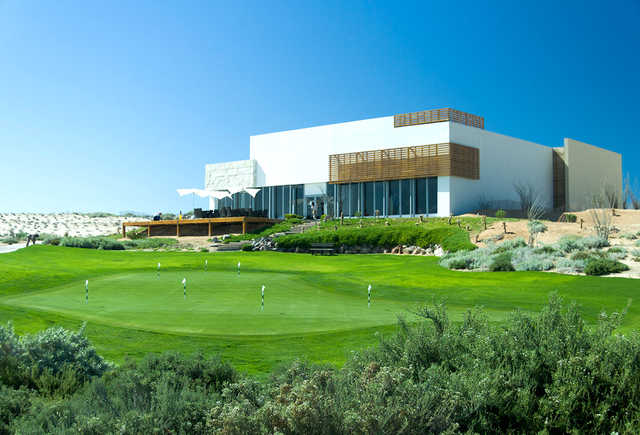 View of the clubhouse at The Nicklaus Design Course at Vidanta Puerto Penasco