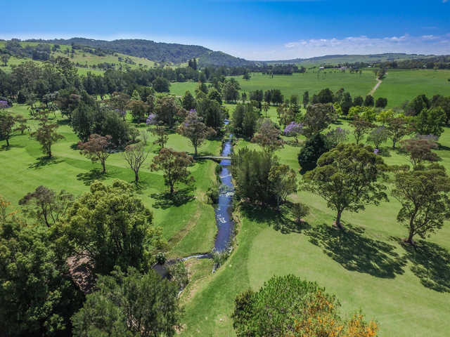 Aerial view from Jamberoo Golf Club