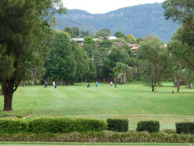 A view from Jamberoo Golf Club