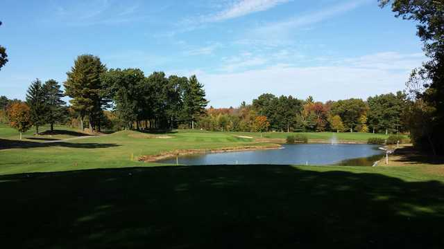 A view from Sassamon Trace Golf Course.