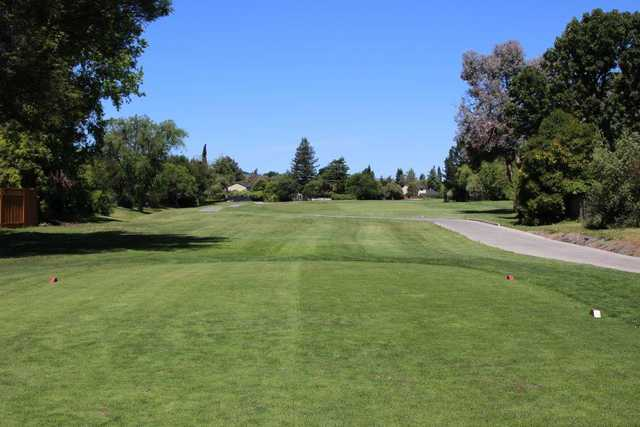 A view from a tee at San Ramon Golf Club.