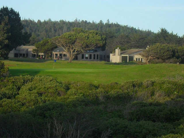 A view of a green at Sea Ranch Golf Links.