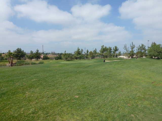 A view from a fairway at Westridge Golf Club.