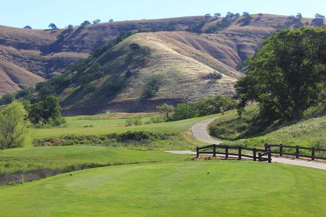 A view from a tee at Diablo Grande Golf & Country Club.