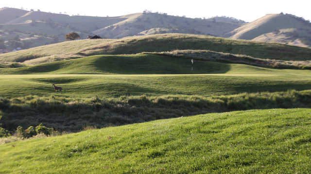 A view of a hole at Diablo Grande Golf & Country Club.