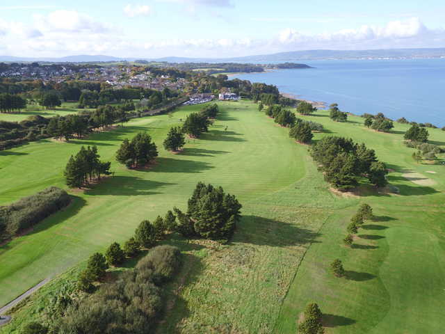 View of the 5th fairway from Carnalea Golf Club