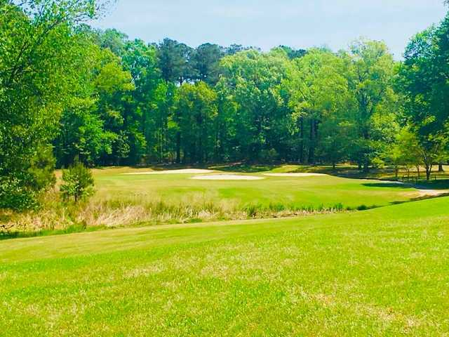 A view of hole #12 from Deer Run Championship at Newport News Golf Club.