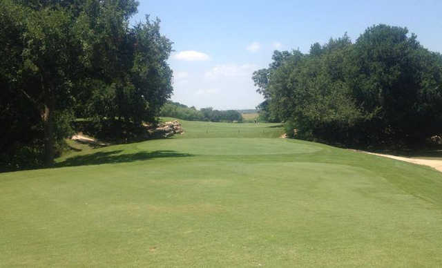 A view from tee #4 at SilverHorn Golf Club of Texas.
