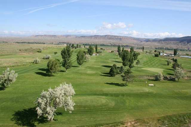 A spring day view from Cedar Ridges Golf Course.