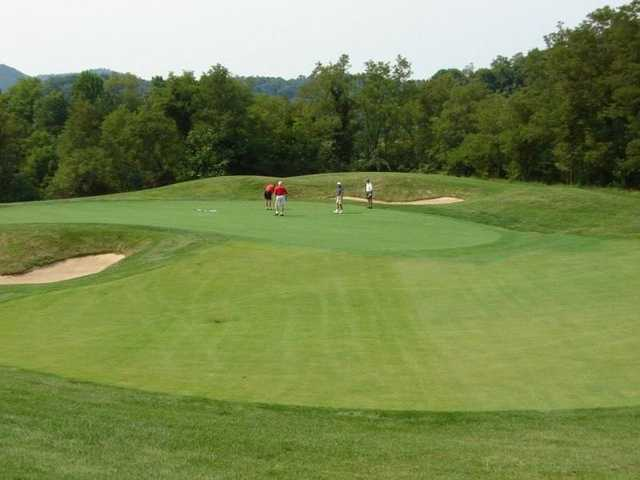 A view of hole #6 at Rocky Gap Casino Resort.
