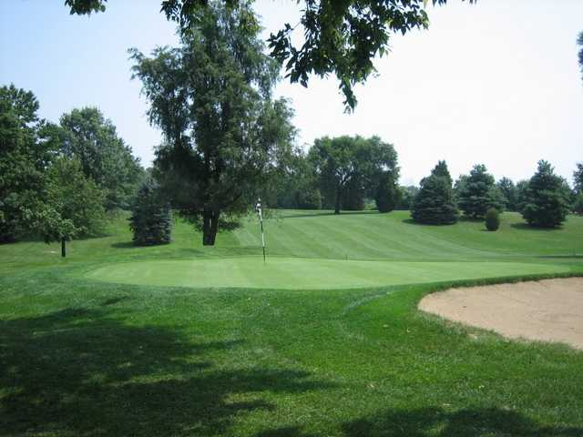 A view of hole #3 at Homestead Springs Golf Course