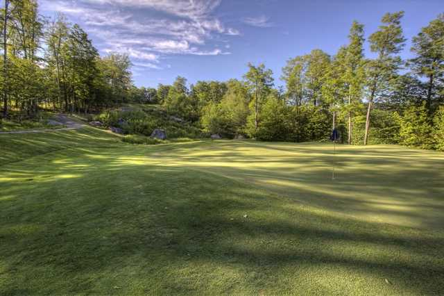 A view of the 13th hole at Green Mountain National Golf Course.