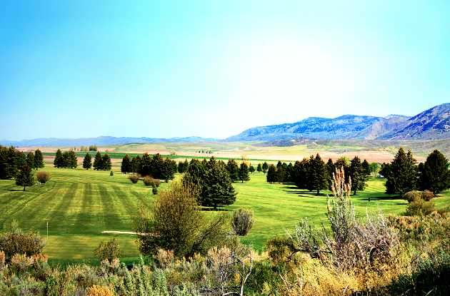 A view from Montpelier Golf Course.