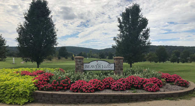 A view of a hole at Beaver Valley Golf Club.