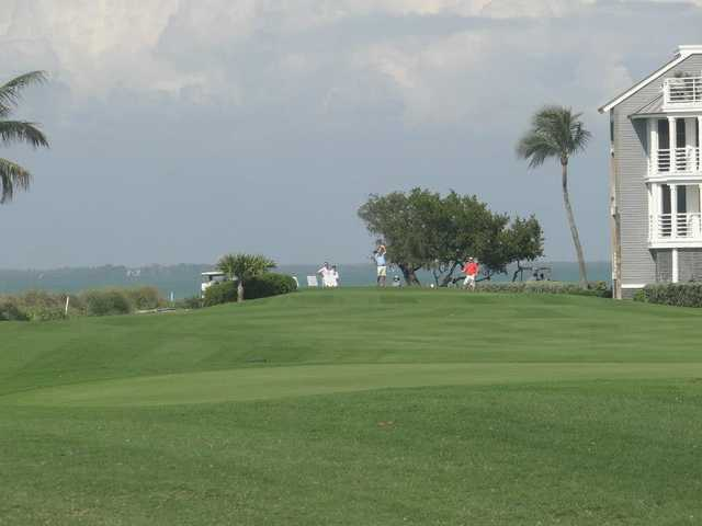 A view of tee #6 from Captiva Course at South Seas Island Resort.