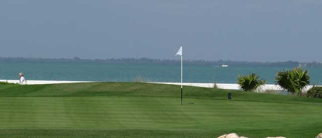 A view of the 5th hole at Captiva Course from South Seas Island Resort.