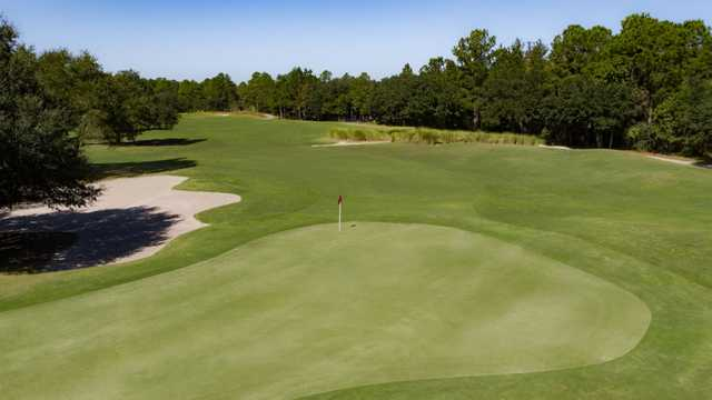 View from #2 on the Heron Nine from Carolina National Golf Club.