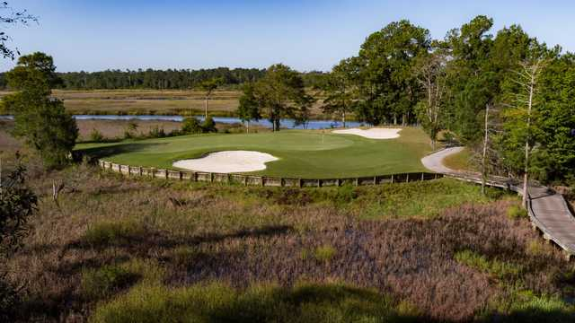 A view of the 5th hole at Ibis Nine from Carolina National Golf Club.