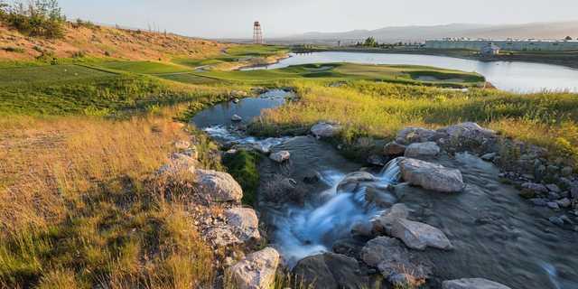 A view from Stonebridge Golf Club.