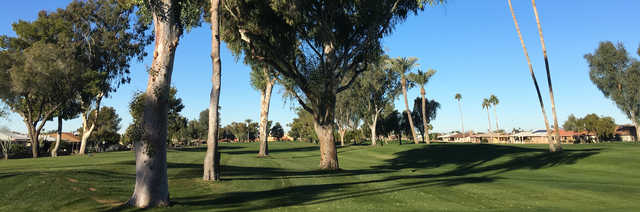 A view from Sunland Village Golf Course.