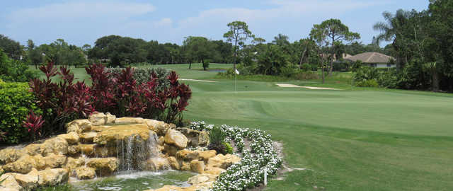 A view of hole #18 at Piper's Landing Country Club.