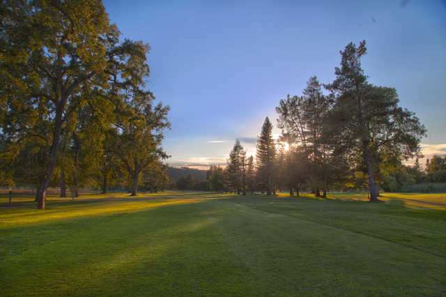 View from the 9th tee at Bennett Valley Golf Course