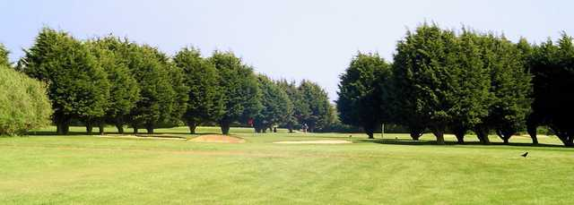 View of a green at RAF St. Athan Golf Club