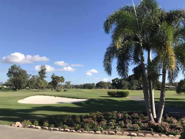 A sunny day view from Seminole Lake Country Club.