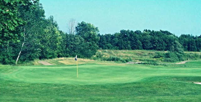 A view of a green from Captain's Club at Woodfield.