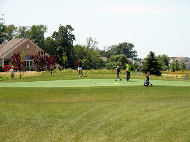 A view of hole #10 at Little Bear Golf Club