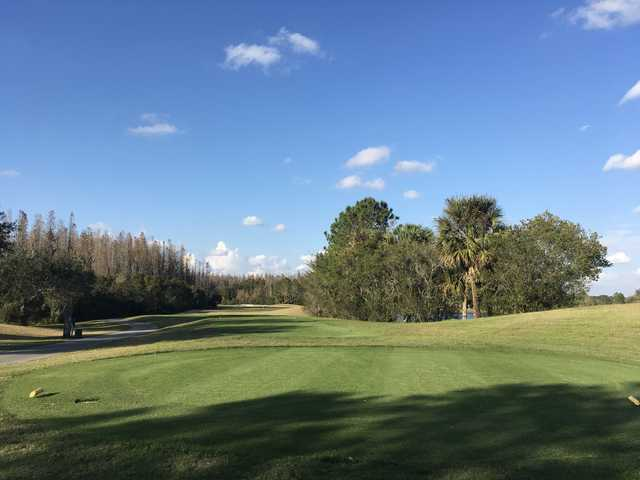 View from a tee at Heritage Isles Golf and Country Club