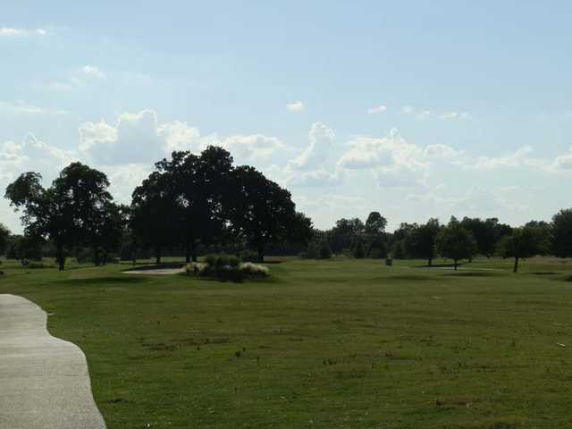 A view of green #11 at Legacy Ridge Country Club.