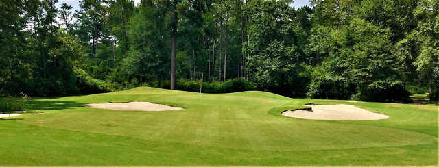 View of a green at Country Oaks Golf Course