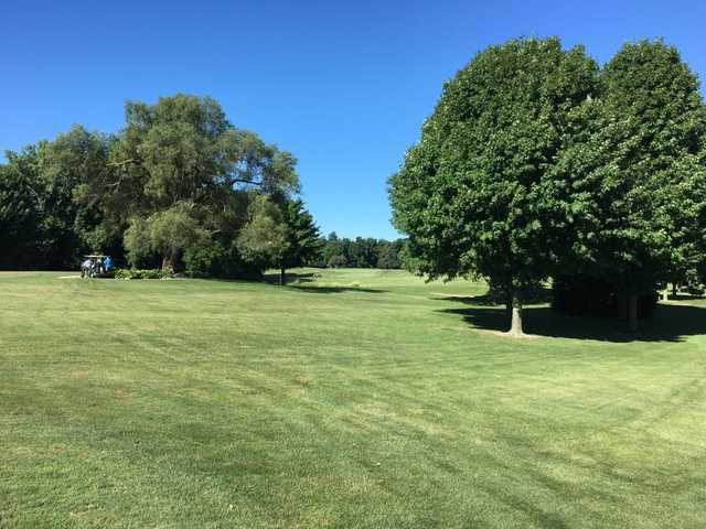 A view from Maxwelton Golf Club