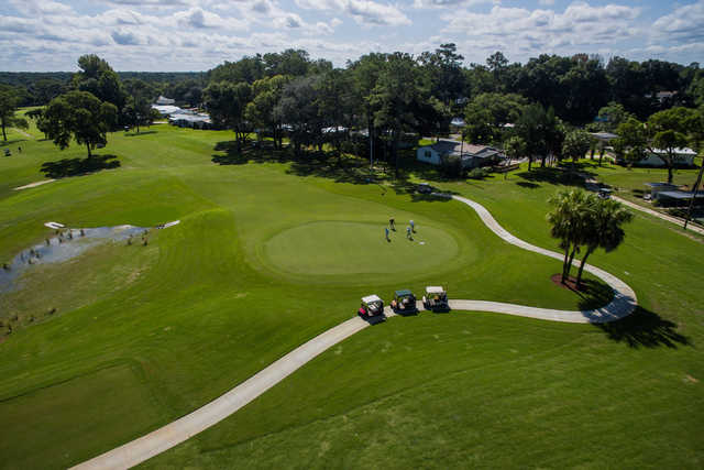 Aerial view from Rolling Greens Executive Golf Course
