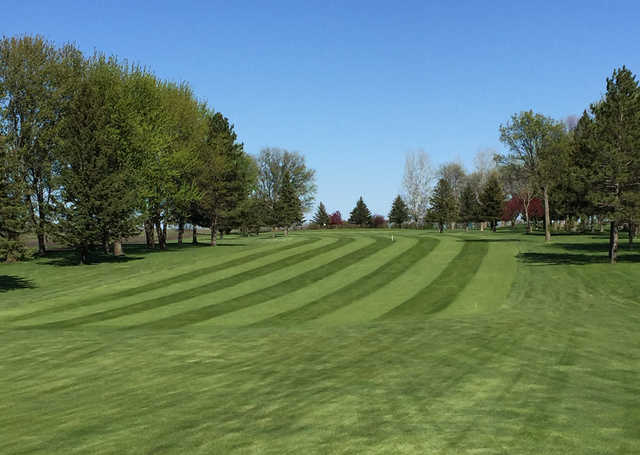 View from the 14th fairway at Oakdale Golf Club